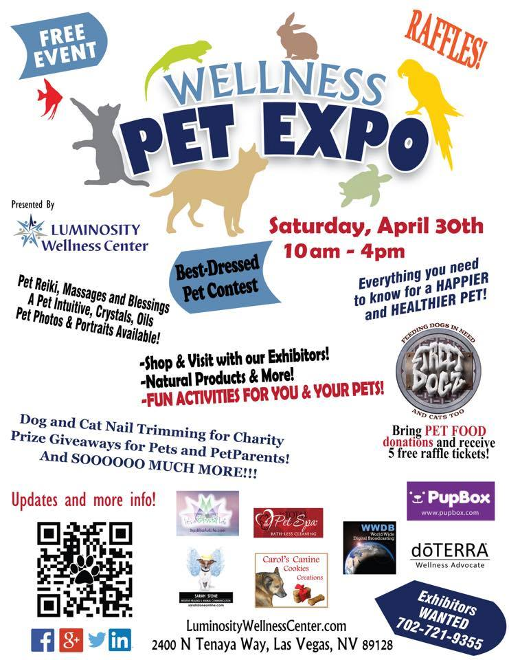 poster for Pet Wellness Expo
